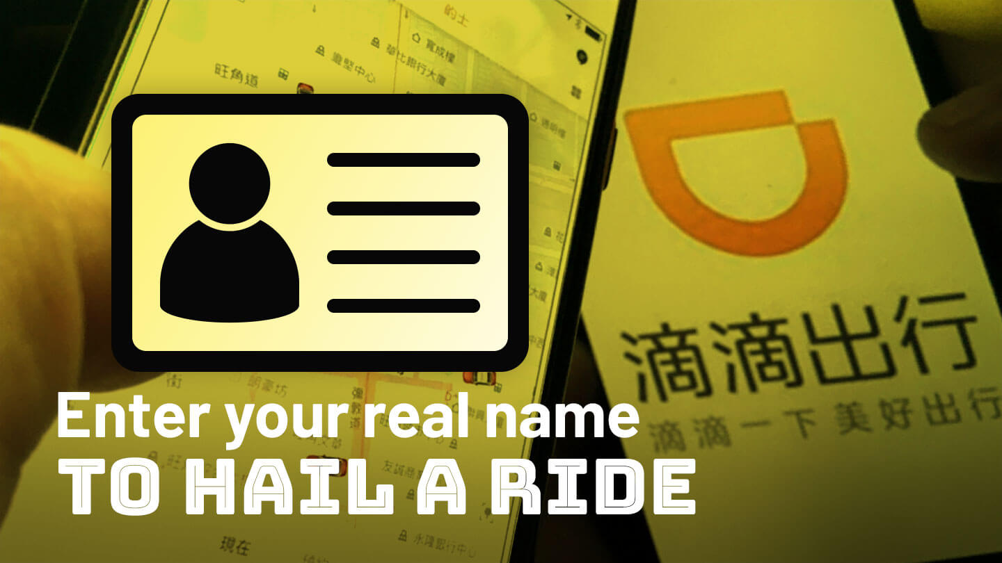 Can real names make China's ride hailing services safer?