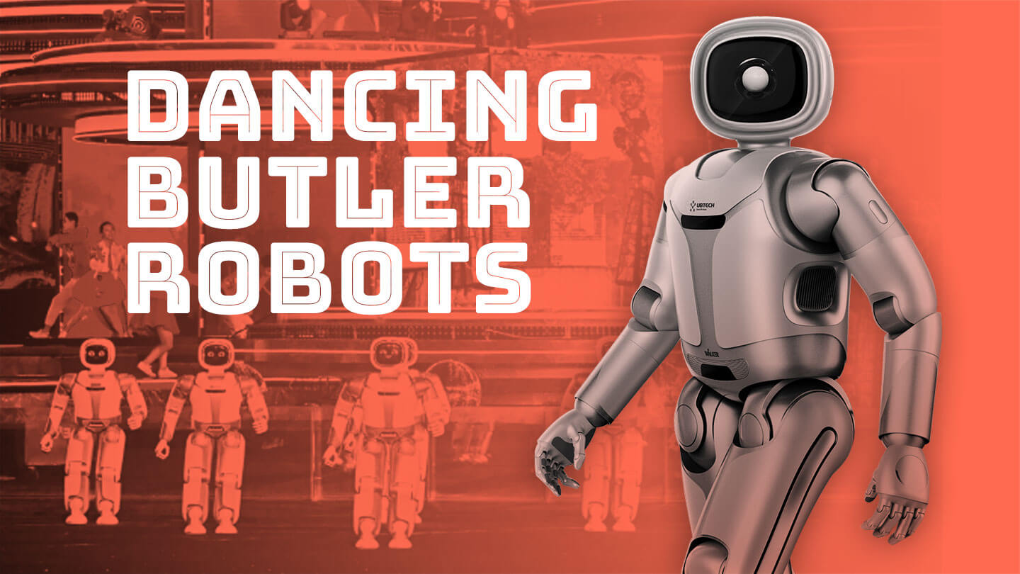 The world's most watched TV show had dancing robots
