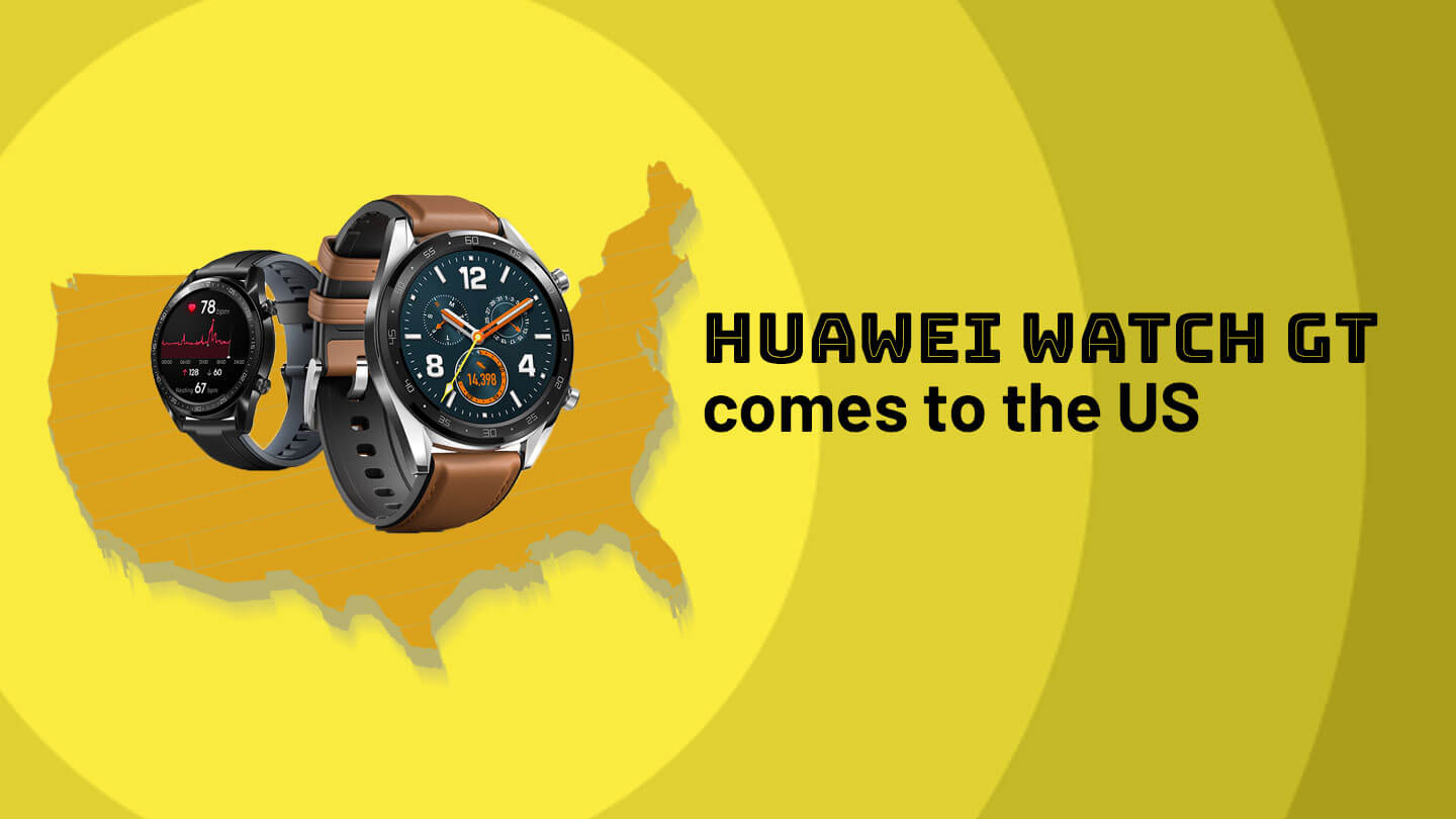 Huawei's Watch GT wearable is coming to the US