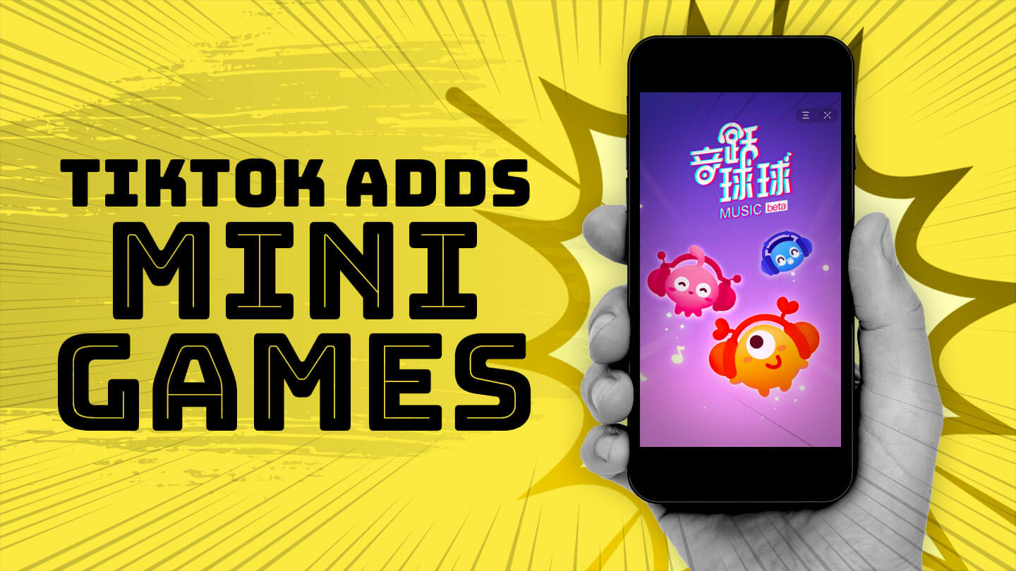 Now there's a game in the Chinese version of viral short video app TikTok