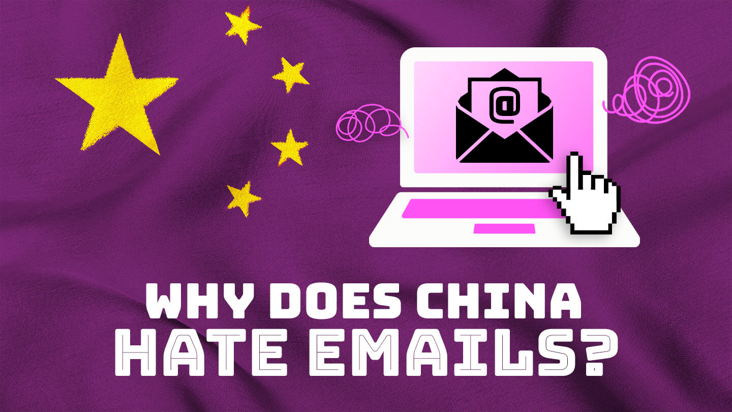 Why does China hate email?