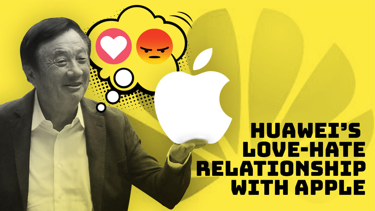 Huawei's boss has long expressed admiration for Apple