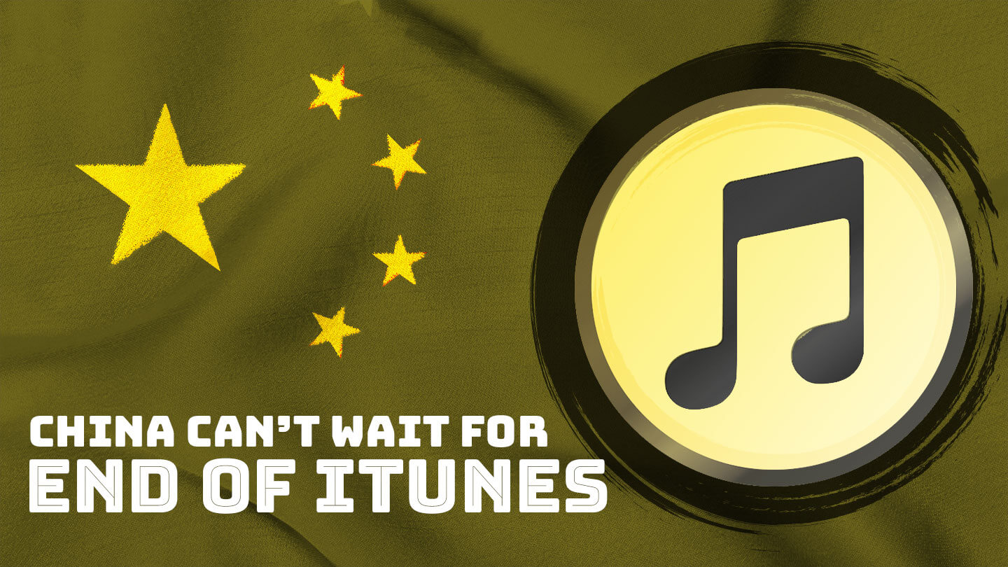 If Apple kills iTunes, it won't be mourned in China