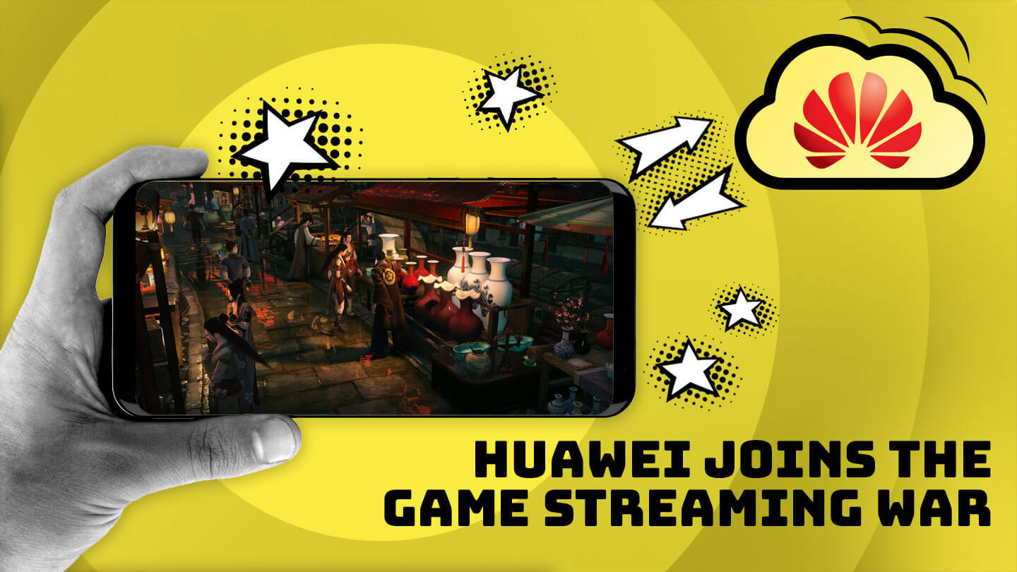 Huawei lets you stream NetEase's flagship PC game on a phone