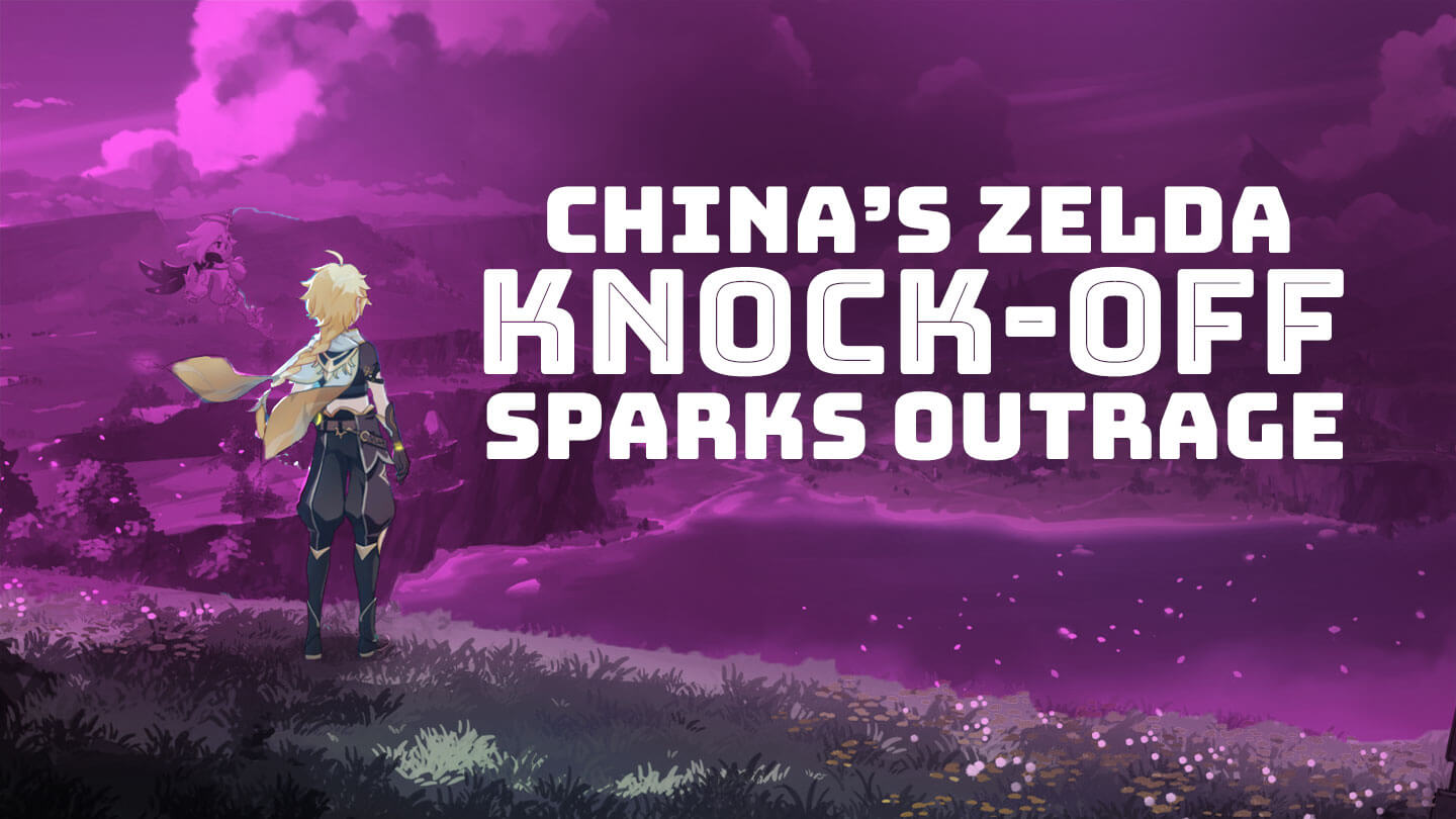 China's blatant Breath of the Wild knock-off sparks outrage