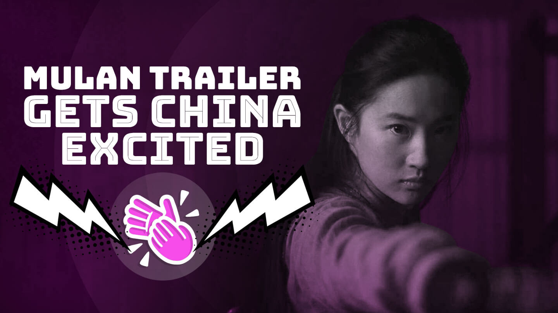 Chinese netizens see Huawei's logo on Mulan's forehead