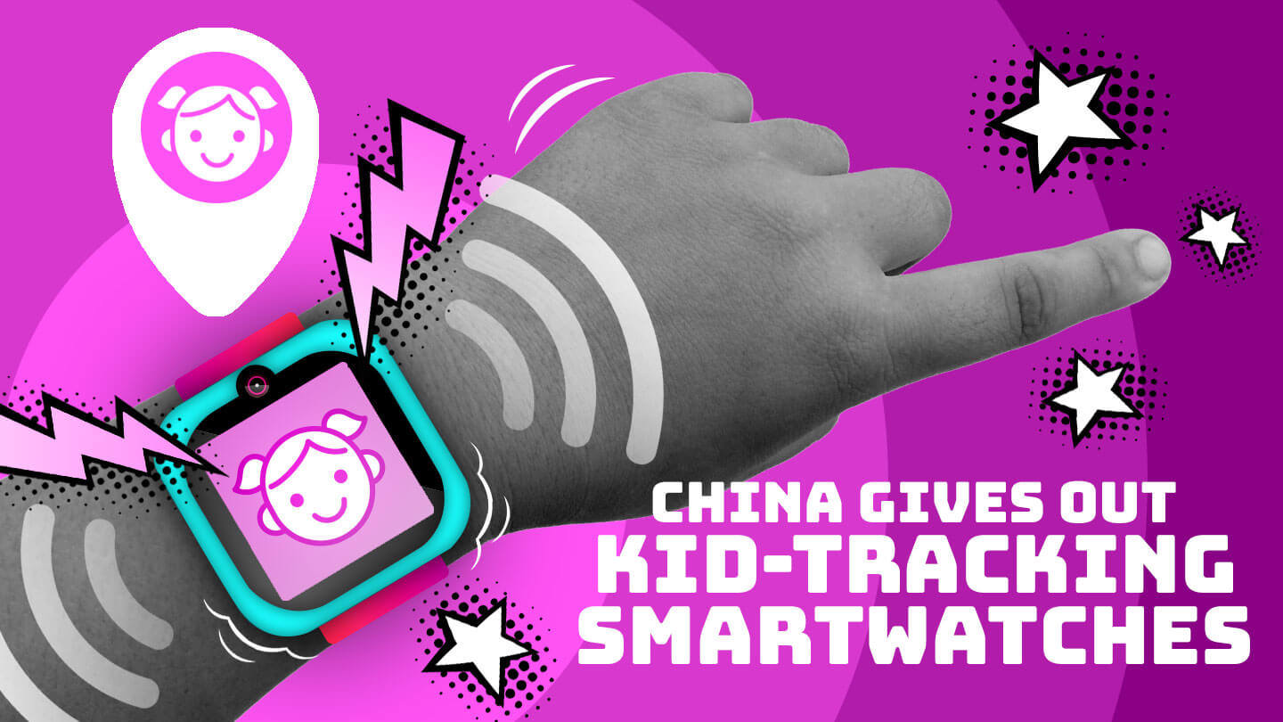 China hands out location-tracking smartwatches to school children in southern city