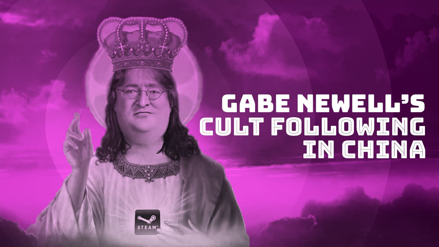 Steam boss Gabe Newell is a viral star in China