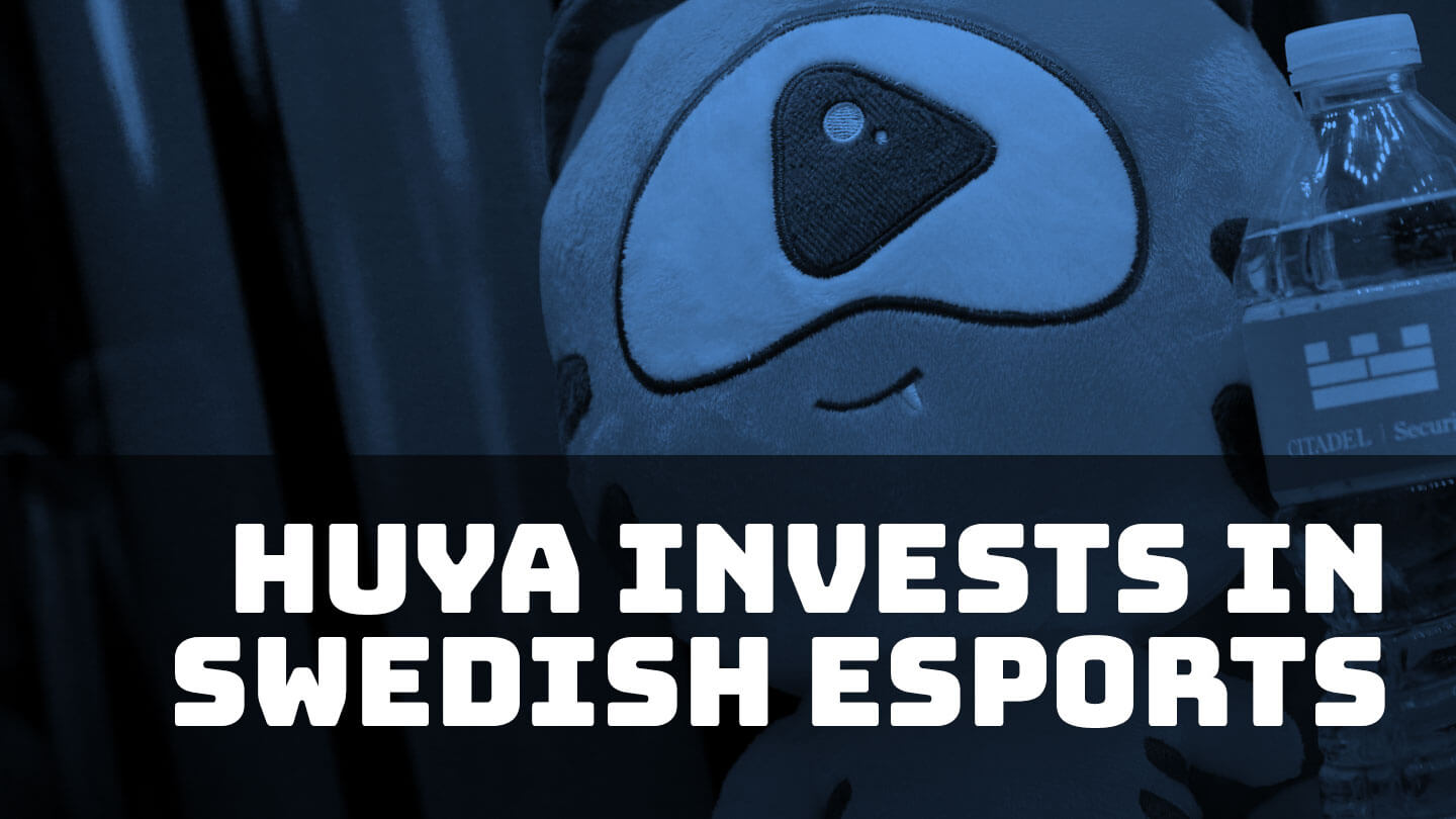 Huya expands in gaming by investing in a Swedish esports company