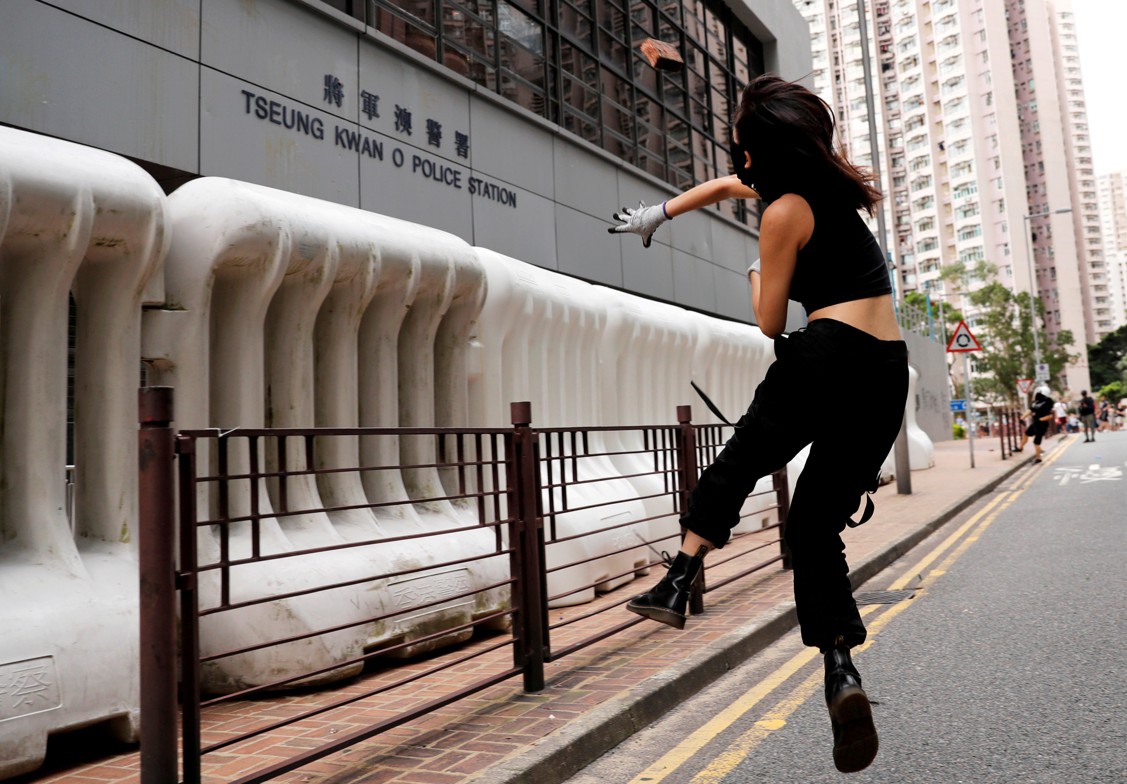 Meet the women on the front lines of Hong Kong's protest movement