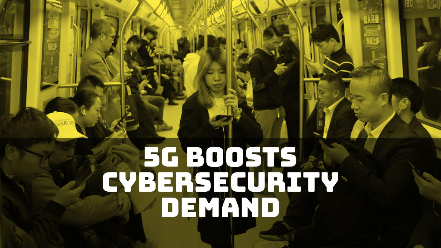 One man in China sees 5G increasing demand for security software
