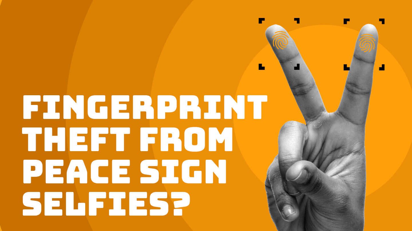 Can you give away your fingerprints in a photo? | Abacus