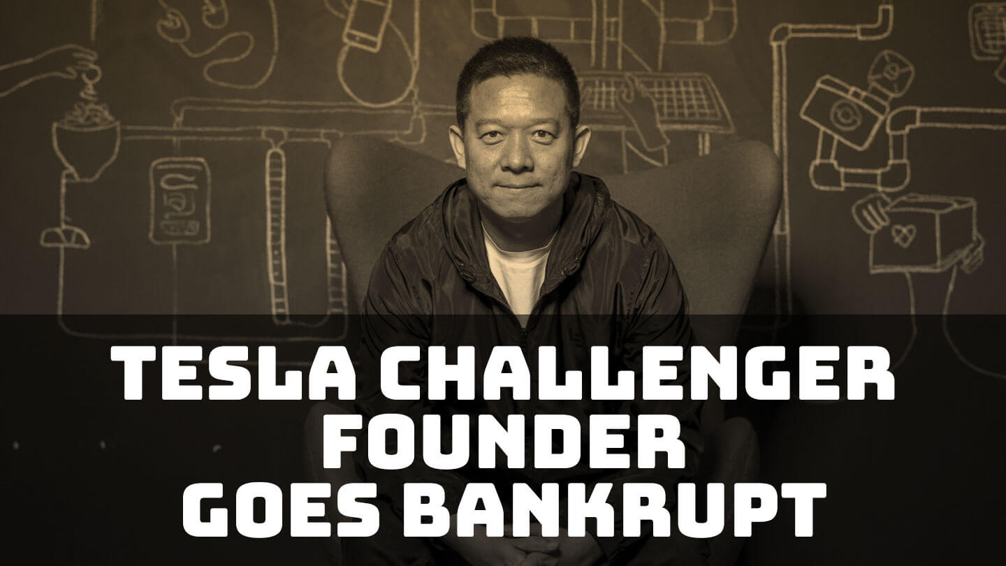 The man who wanted to challenge Tesla is bankrupt   Abacus