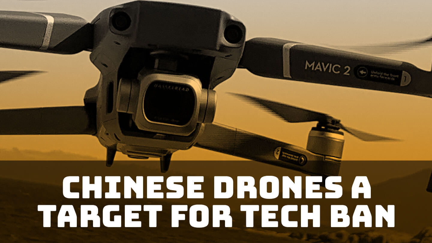 Chinese drones are the latest target for a tech ban in the US - DJI and other Chinese drone makers find themselves under suspicion in the US, where lawmakers want to restrict government purchases of such products | Abacus