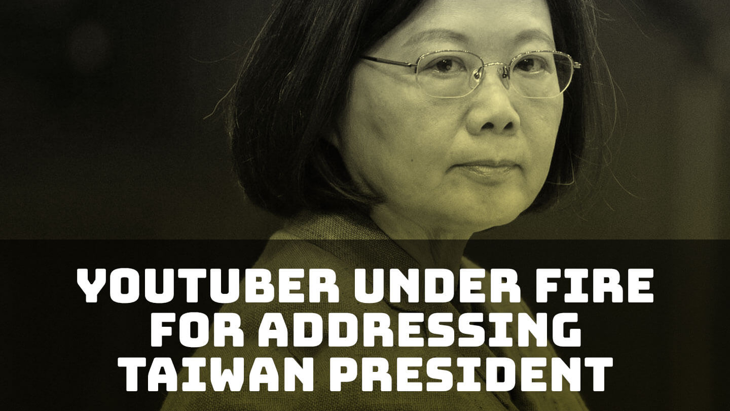 Chinese talent agency drops Taiwanese YouTuber for addressing President Tsai Ing-wen - YouTuber Chen Chia-chin, aka Potter King, lost control of his Weibo account when Papitube nullified his contract for addressing Taiwan's leader as president | Abacus