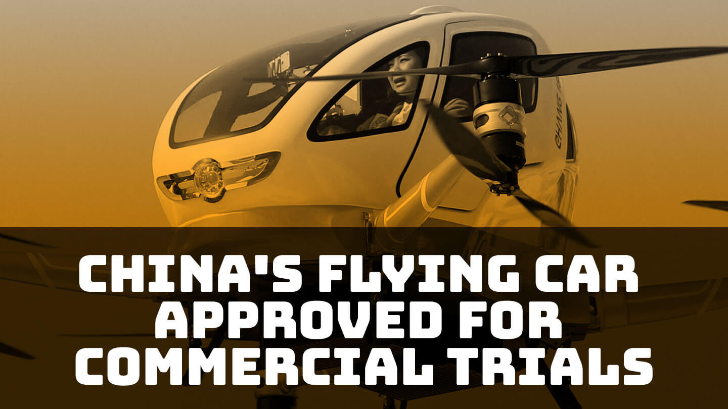 Passenger drone company Ehang gets commercial license in China - Ehang is the first company in the world to get a national commercial license for an autonomous aerial vehicledelivering loads heavier than150kg | Abacus