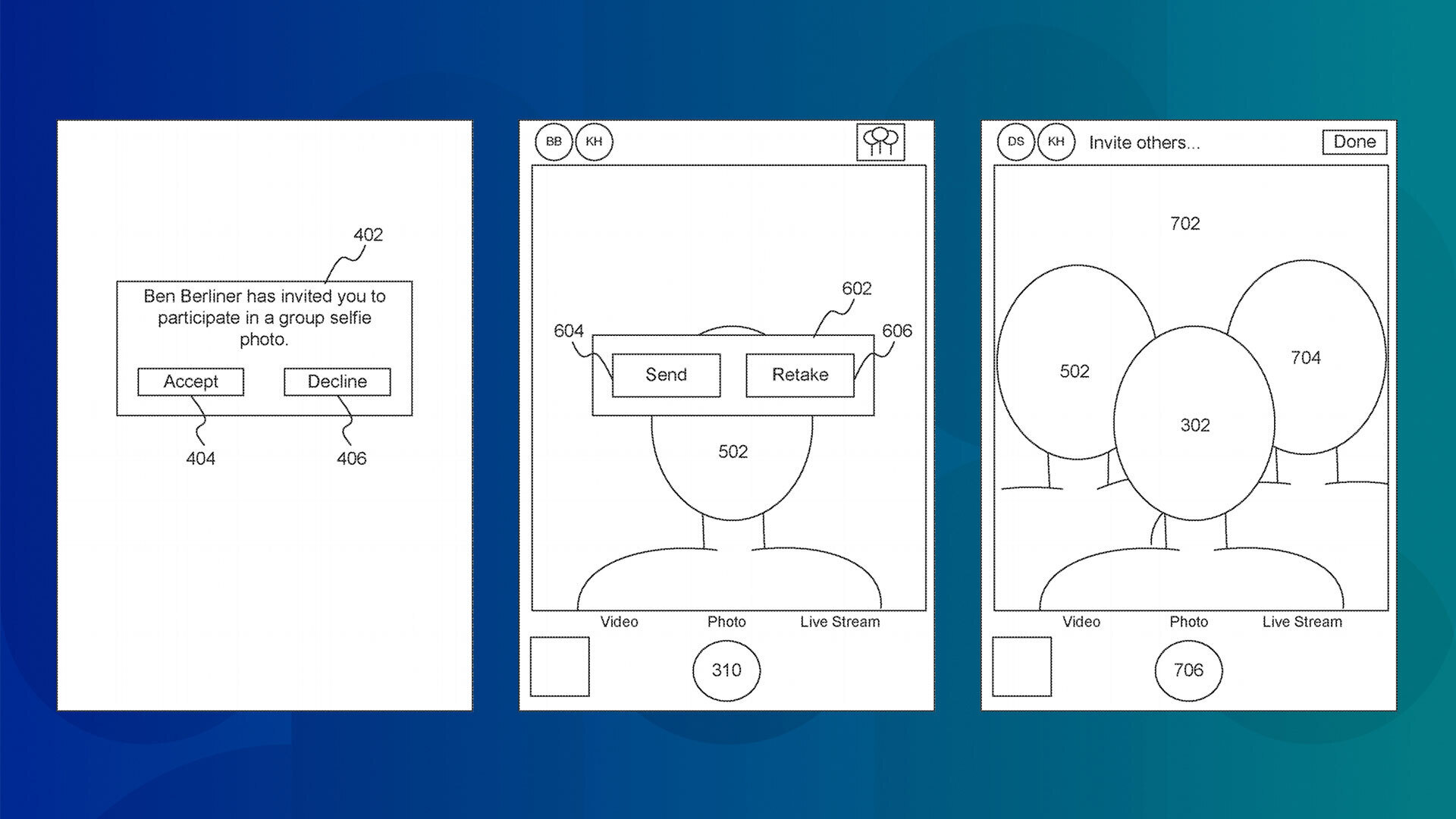 Apple patents a way to take group selfies during social distancing