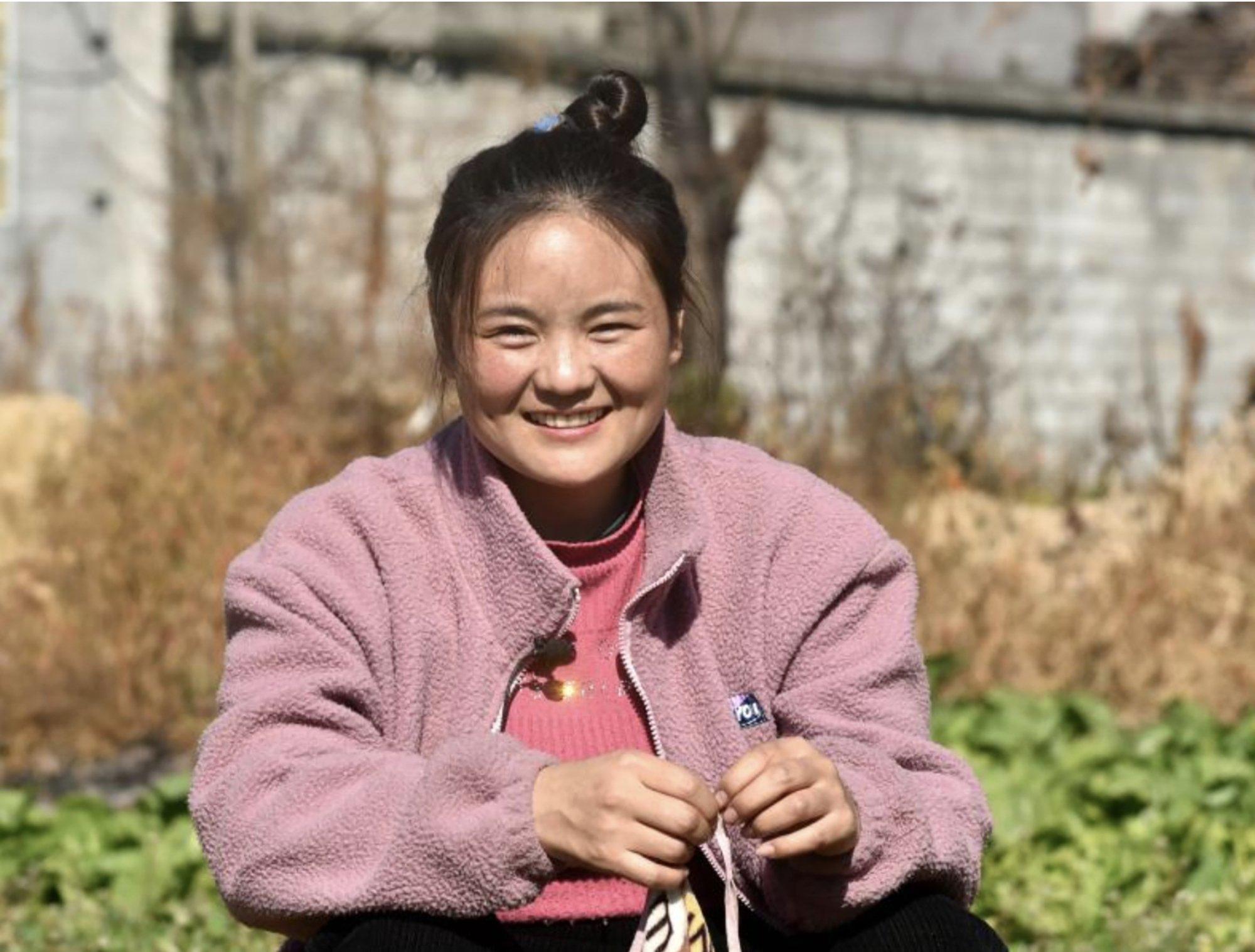 Bamu Yubumu in her hometown in Liangshan Yi autonomous prefecture in Sichuan province, China, on January 22. Photo: Xinhua / Zhou Ke
