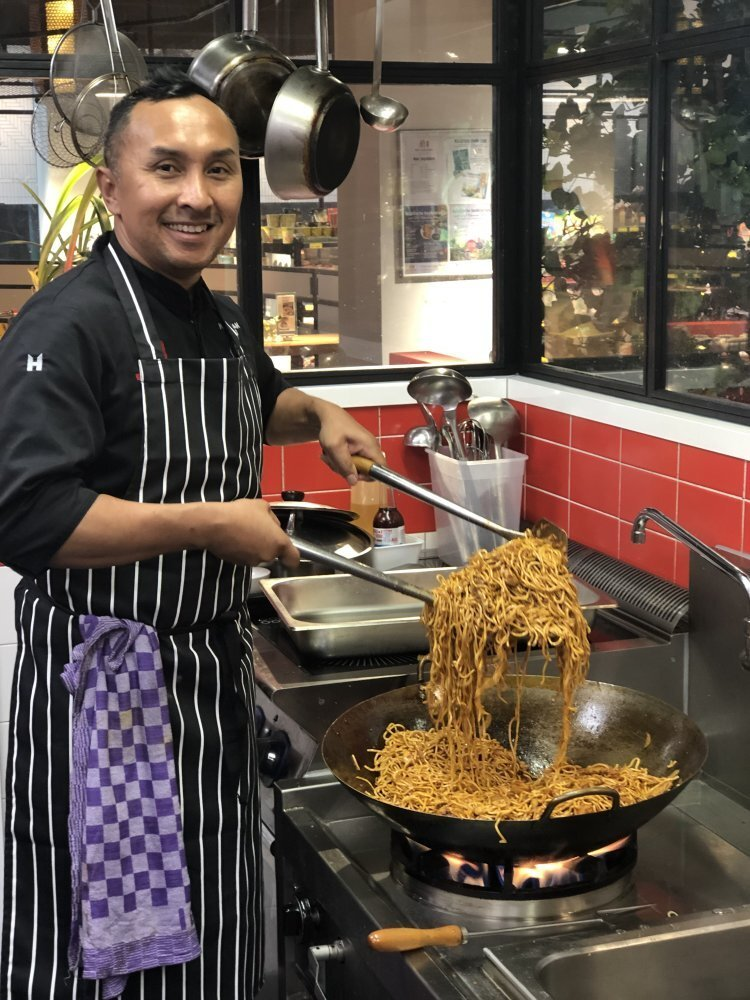 Norman Musa is a Malaysian chef, author and TV host who is based in the Netherlands. Photo: Norman Musa