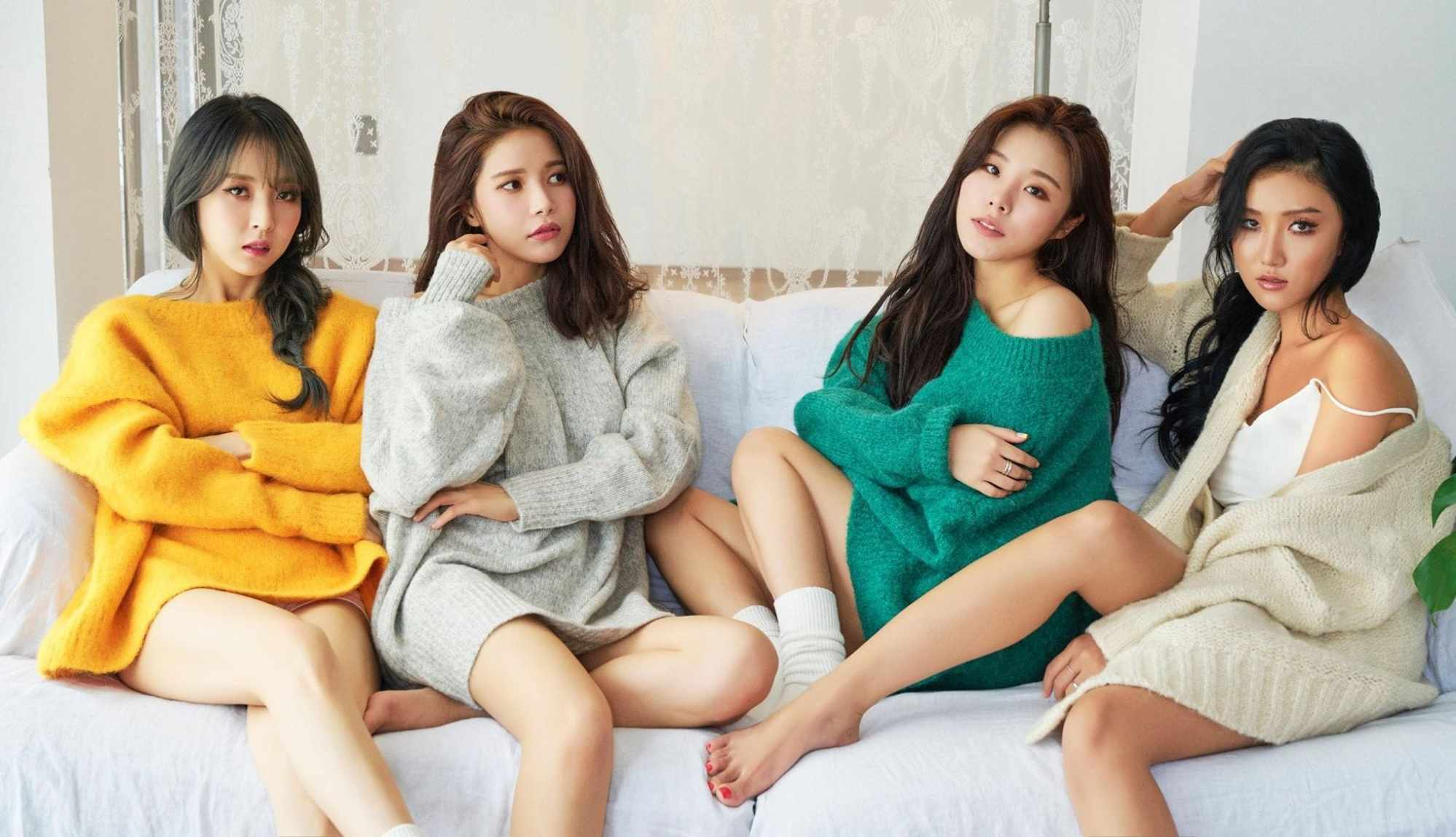 Hilangnya musik datang sebagai kebangkitan yang tidak sopan bagi banyak pengguna Spotify - bukan hanya penggemar musik Korea seperti Mamamoo.  Foto: RBW