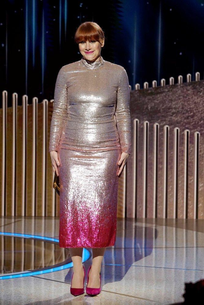 Bryce Dallas Howard at the Golden Globe Awards in New York. Photo: NBC handout via Reuters