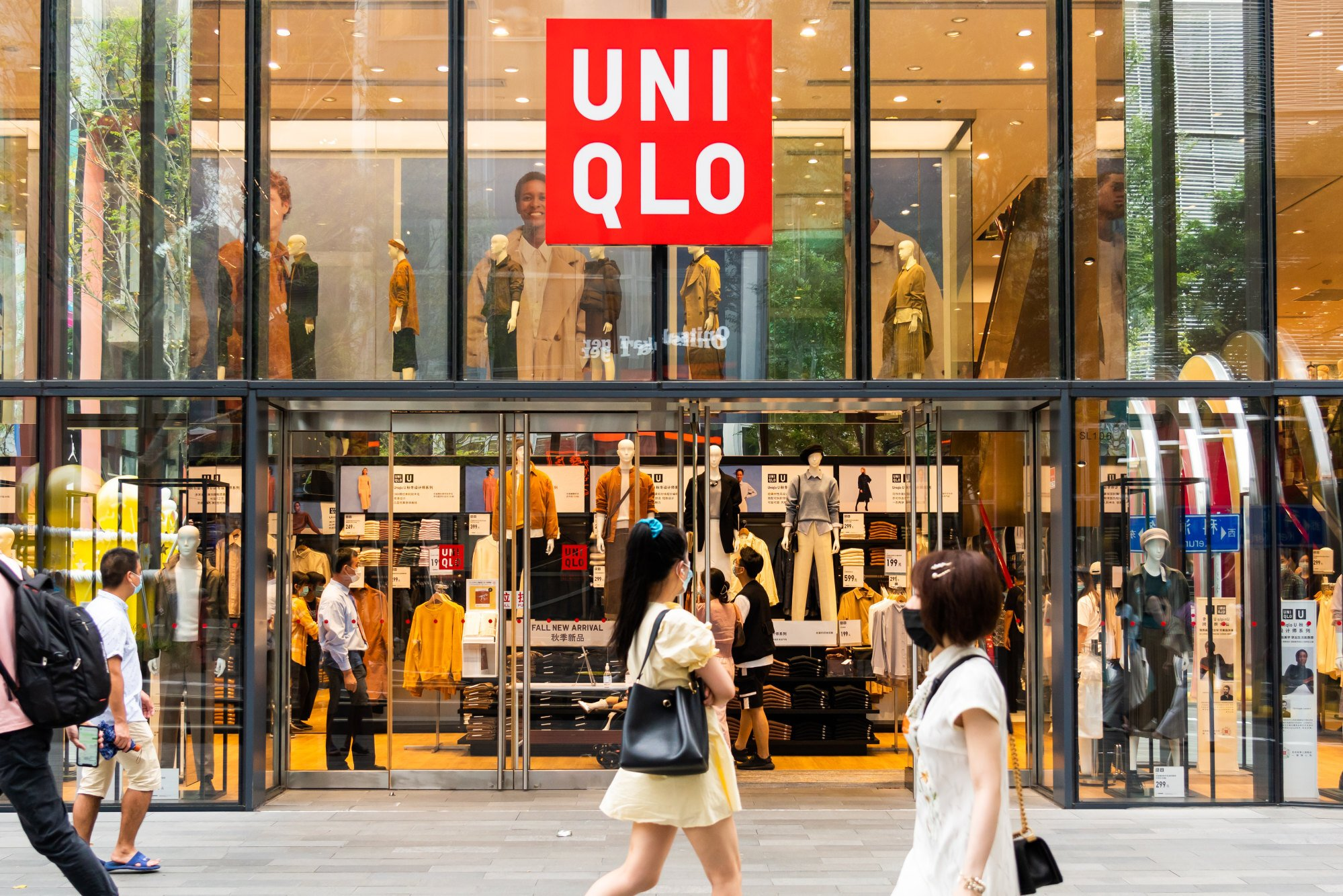 UNIQLO workers have described adult women attending changing rooms and damaging clothes meant for small children. Photo: Getty