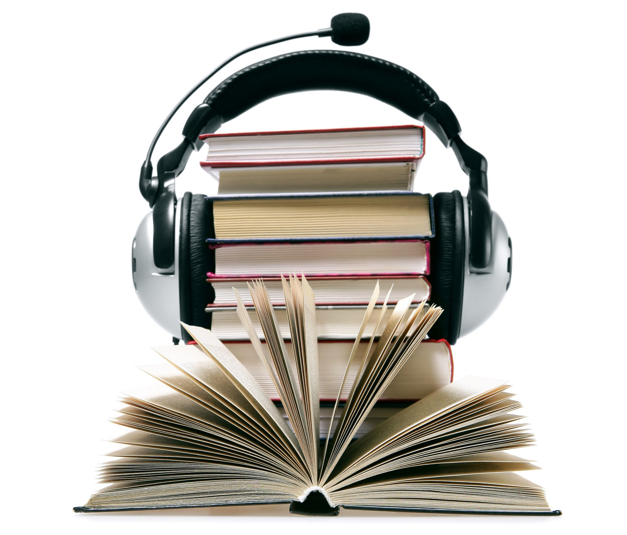 Audiobooks and podcasts make the experience more vivid. Photo: Getty Images