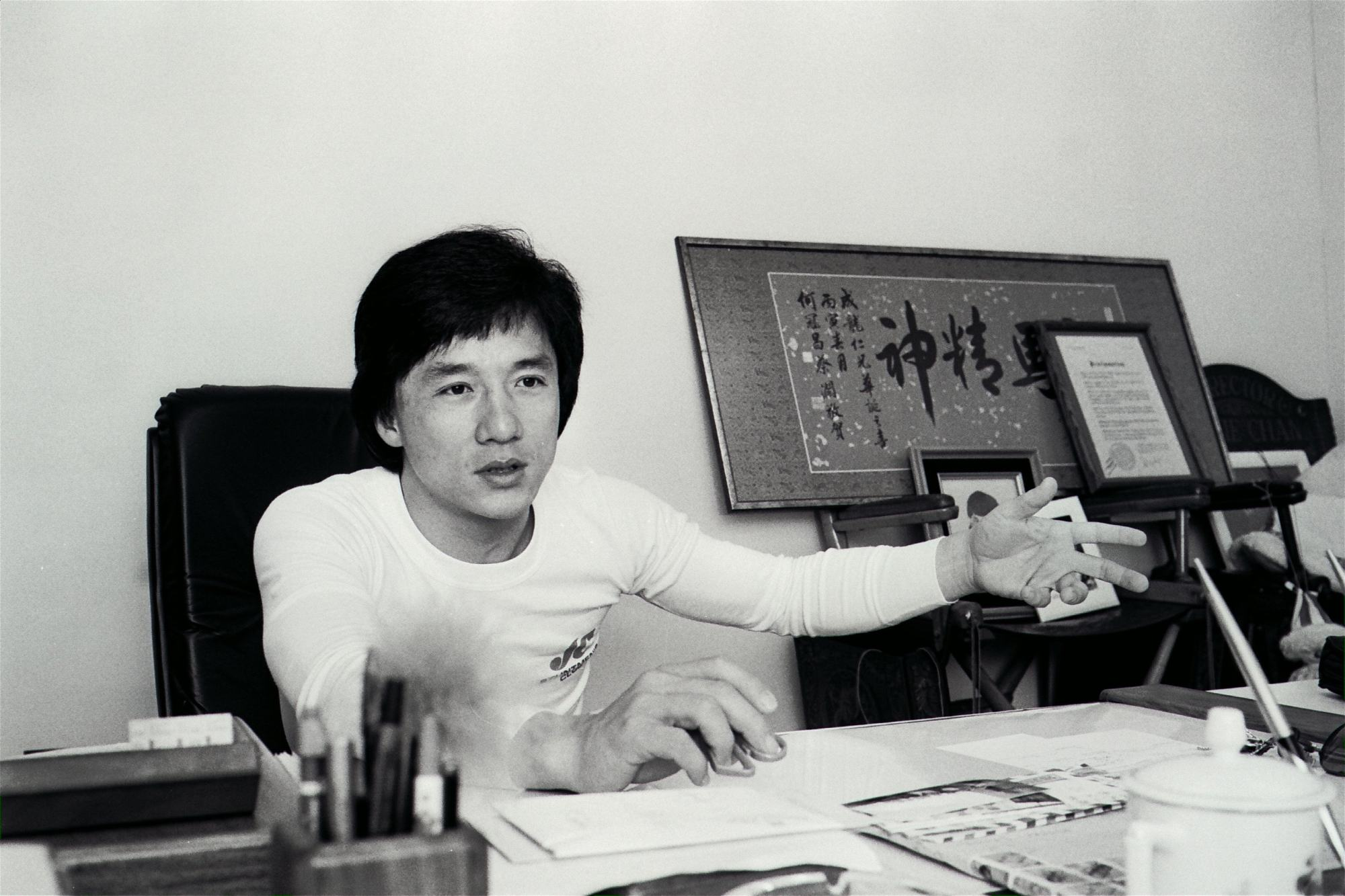 Chan in an interview with the Post in his office, in 1986. Photo: SCMP