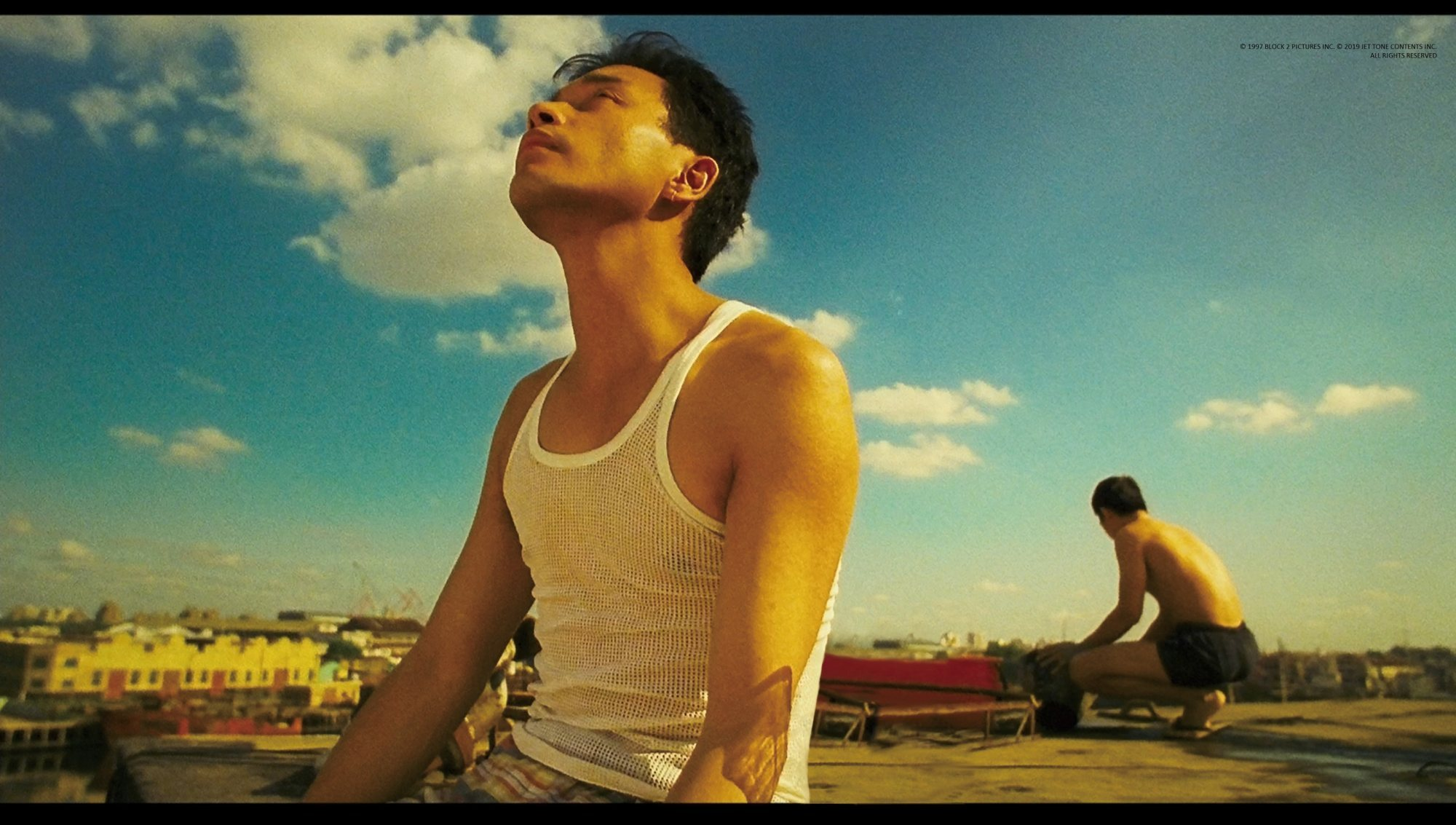 Leslie Cheung and Tony Leung Chiu-wai starred in Wong Kar-wai's 'Happy Together,' which is considered a landmark LGBTQ movie. Photo: Block 2 Pictures and Jet Tone Contents