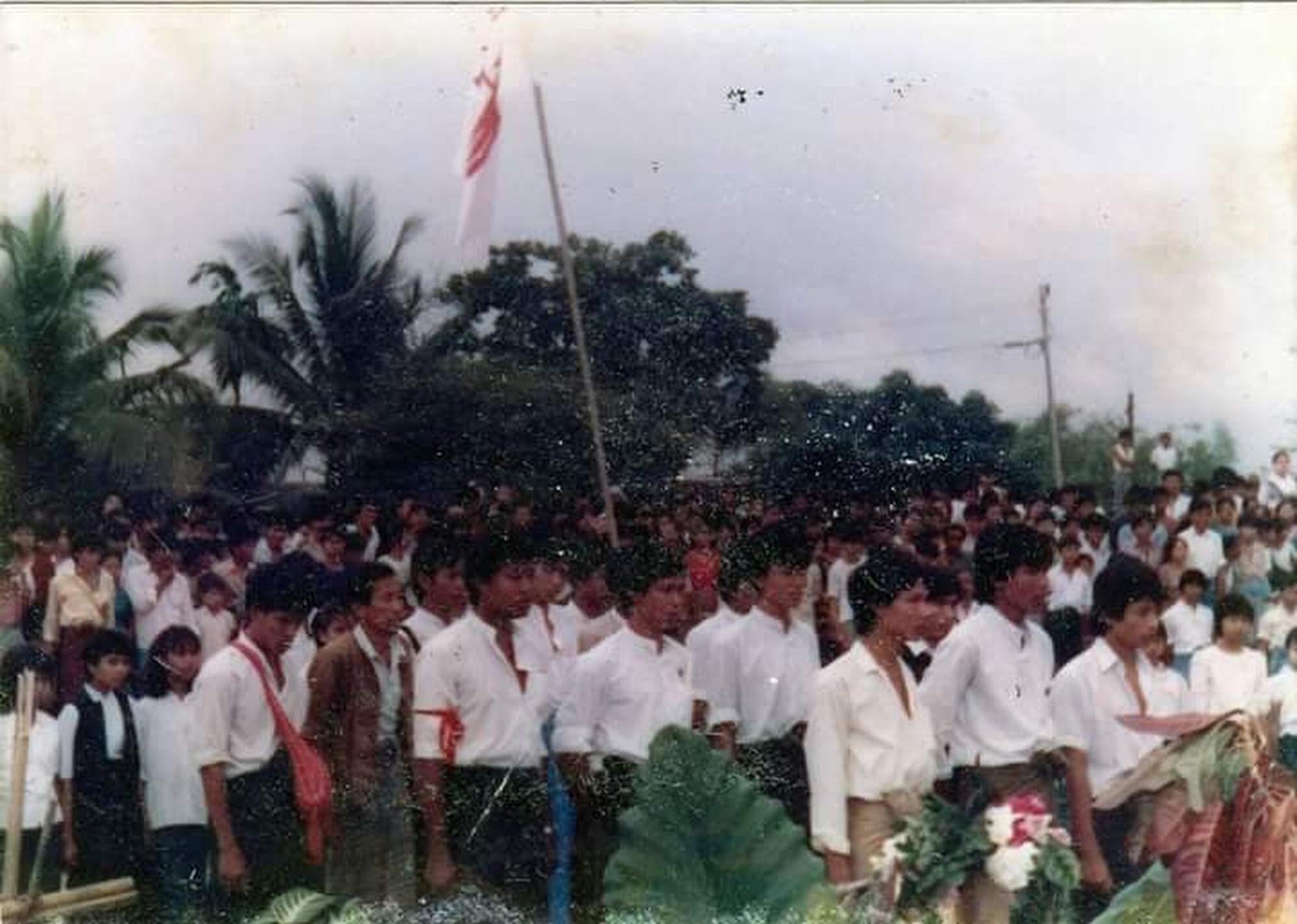 North Okkalapa during 1988 uprising. Photo: Burma History Museum