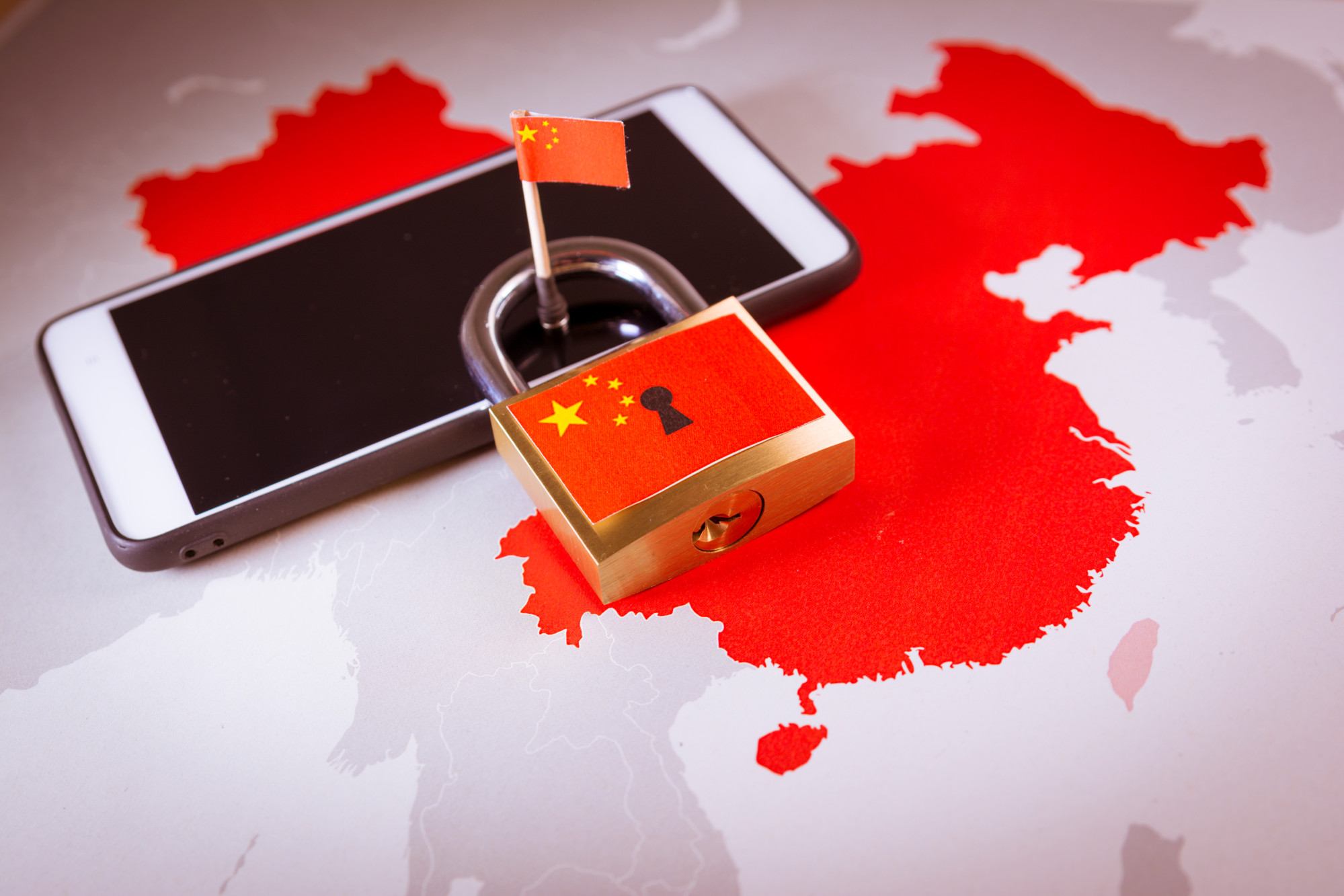 Many sites are blocked in China including Google, Facebook, Twitter and some foreign news outlets. Photo: Shutterstock