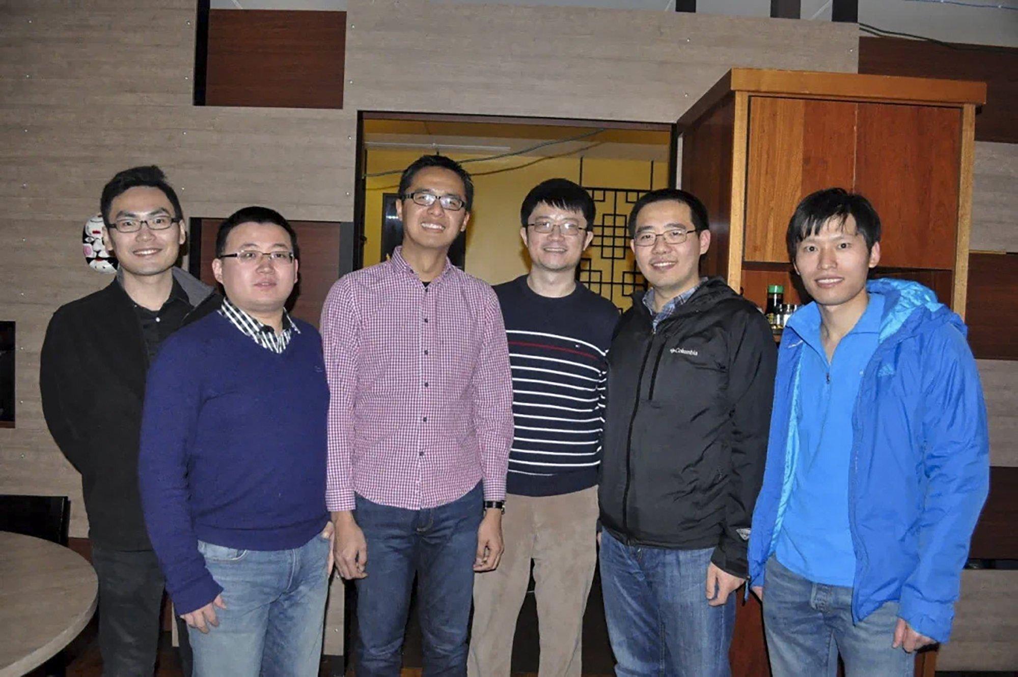 费米实验室的中国团队。 照片:李亮