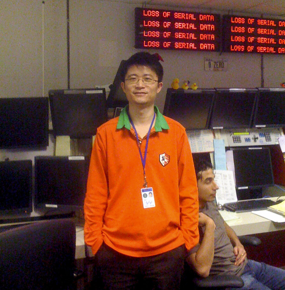 Li Liang, a professor of particle physics, has worked for nearly a decade on the Muon g-2 experiment. Photo: Handout