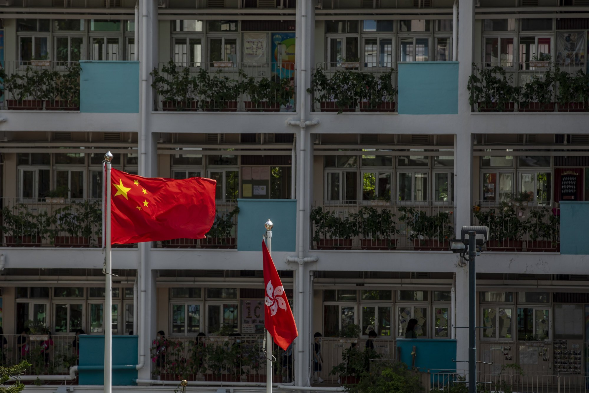 Hong Kong has already slipped in a global academic freedom index since the imposition of the security law. Photo: Bloomberg