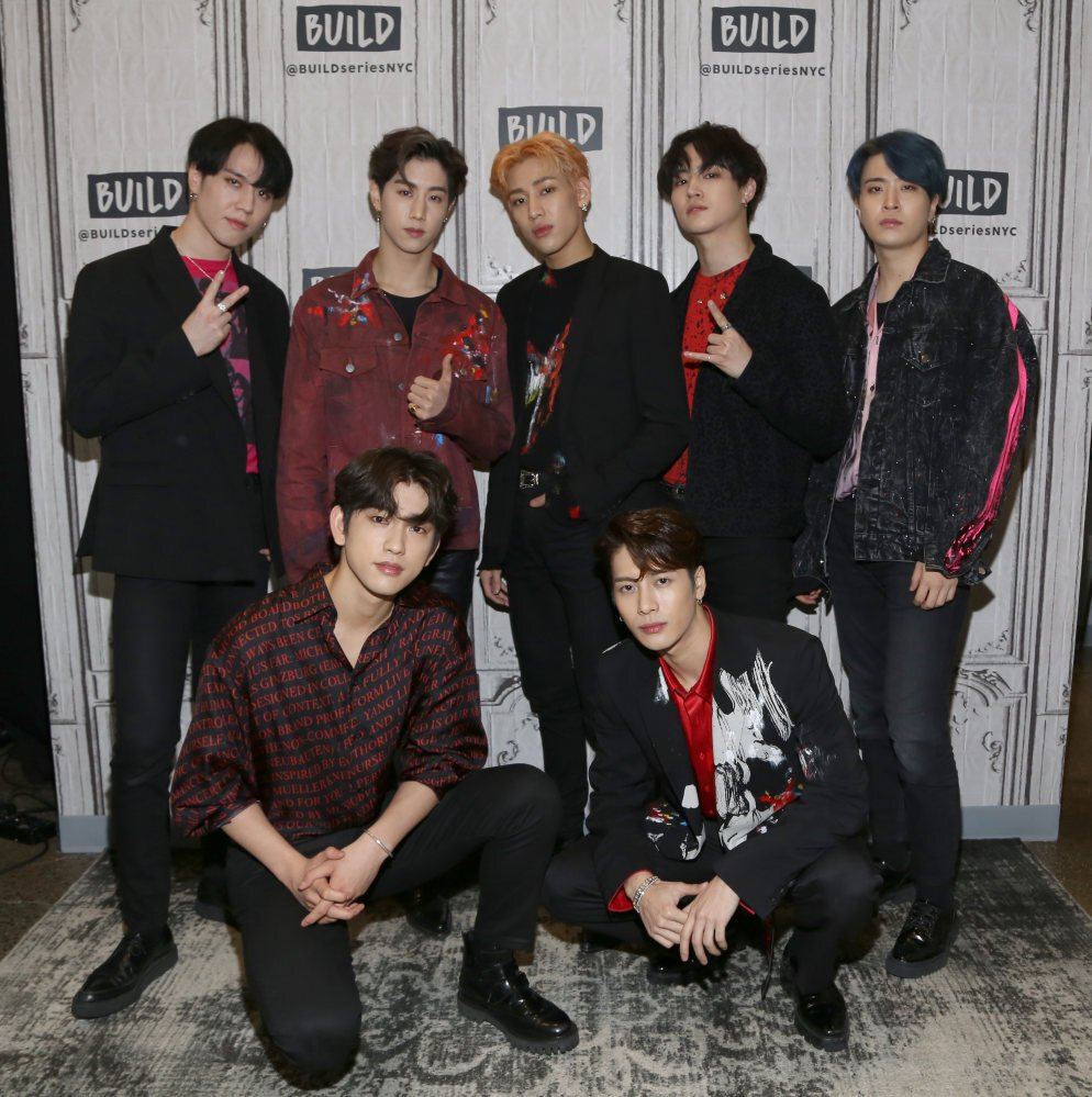 Got7 in New York in 2019. The group plan to remain together, but each member is doing his own thing. Photo: Getty Images