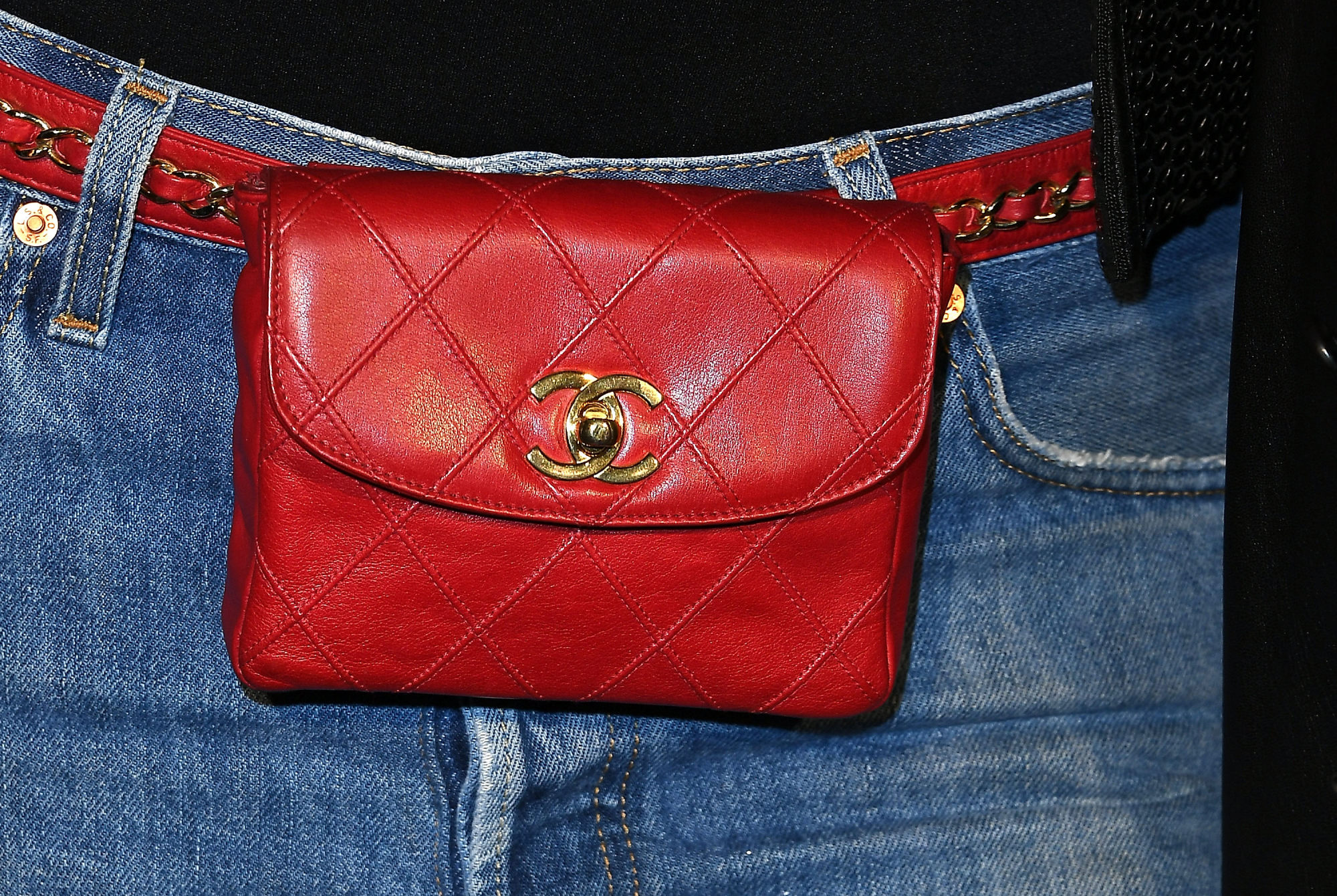 Chanel's logo adorns most of its consumer goods. CREDIT: GETTY IMAGES