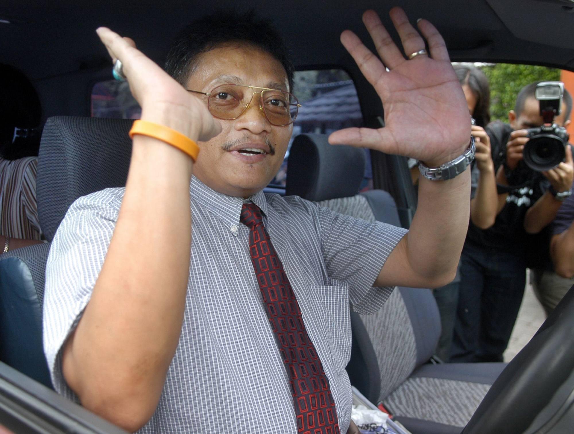 Pollycarpus Priyanto, seorang pilot Indonesia yang sebelumnya dituduh membunuh aktivis HAM Munir Said Thalib  File foto AFP