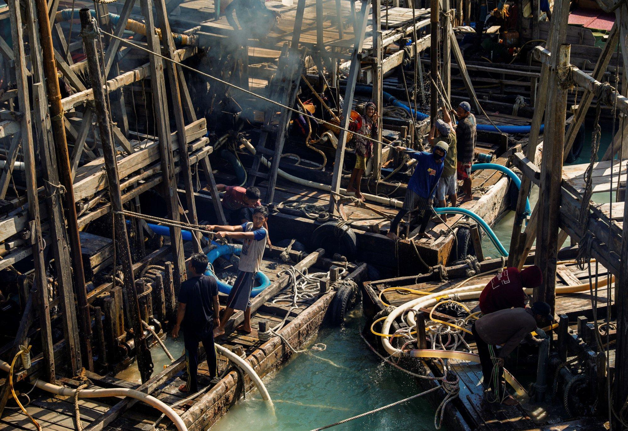 Pertambangan mineral dan batubara merupakan industri penting di Indonesia  File foto Reuters