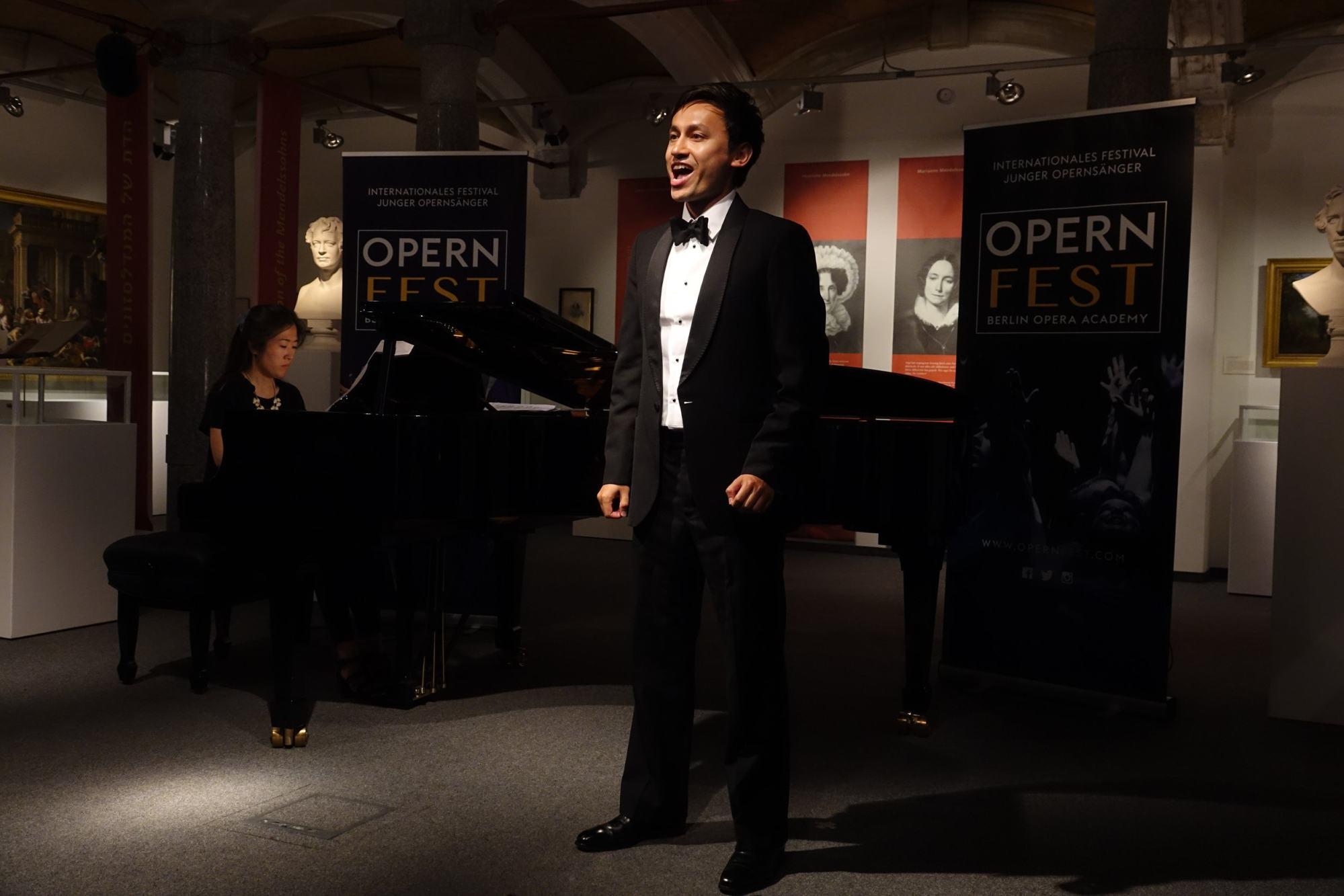 Julian Chou-Lambert says opera is a white-dominated world. Photo: Detlef Kurth