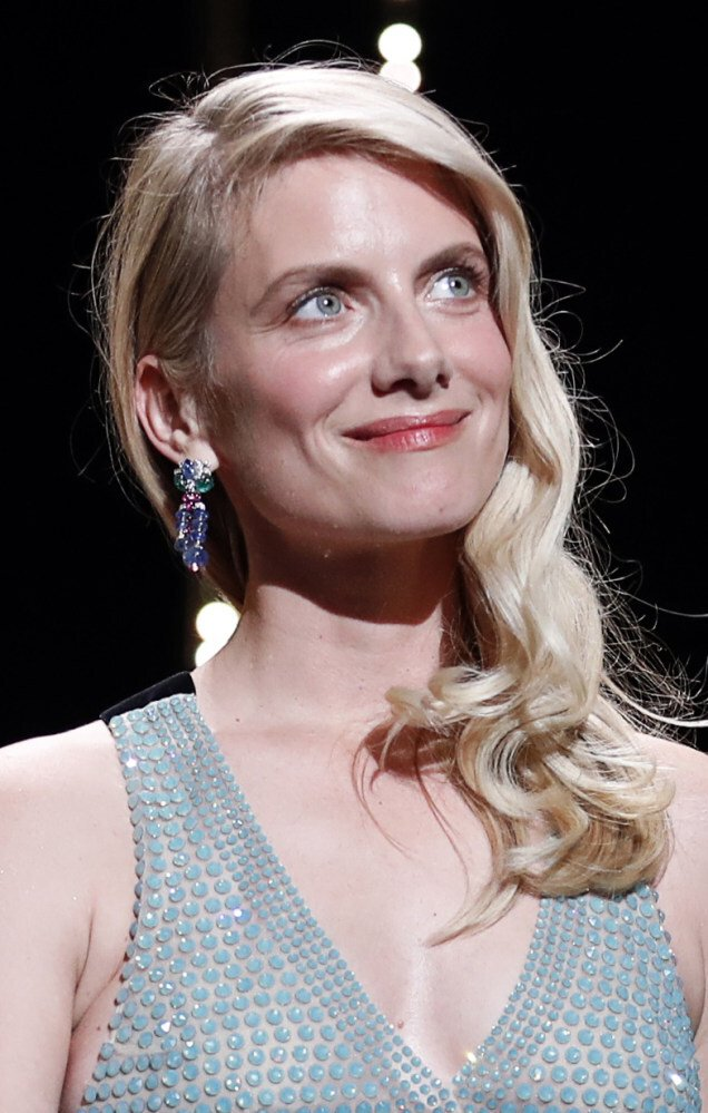 Jury member Mélanie Laurent on stage at the 74th Cannes Film Festival in Cannes, France, on July 6, 2021. Photo: Reuters
