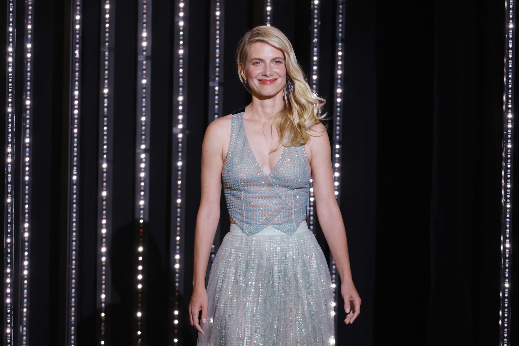 Jury member Mélanie Laurent at the 74th Cannes Film Festival in Cannes, France, on July 6, 2021. Photo: Reuters