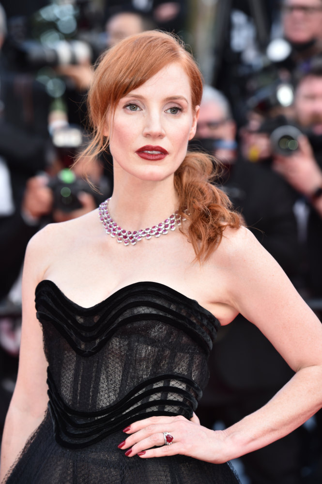 Jessica Chastain attends the Annette screening and opening ceremony during the 74th annual Cannes Film Festival on July 6, 2021, in Cannes, France. Photo: WireImage