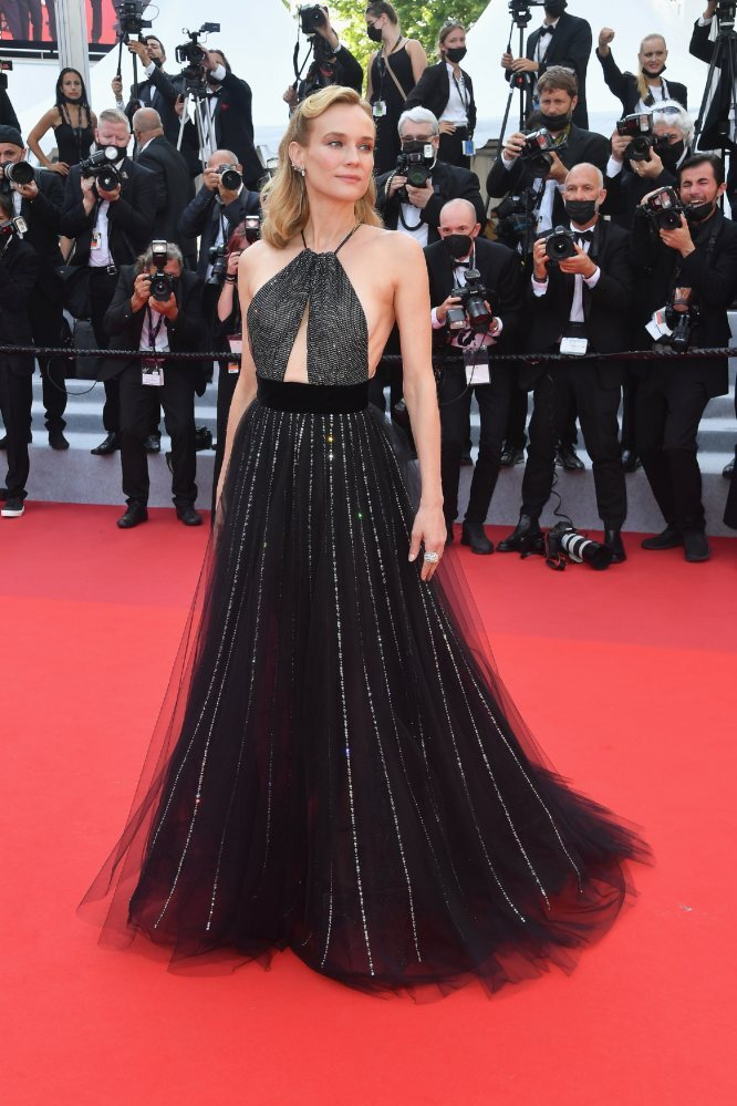 Diane Kruger attends the Tout S'est Bien Passe (Everything Went Fine) screening during the 74th annual Cannes Film Festival on July 7, 2021 in Cannes, France. Photo: Corbis via Getty Images