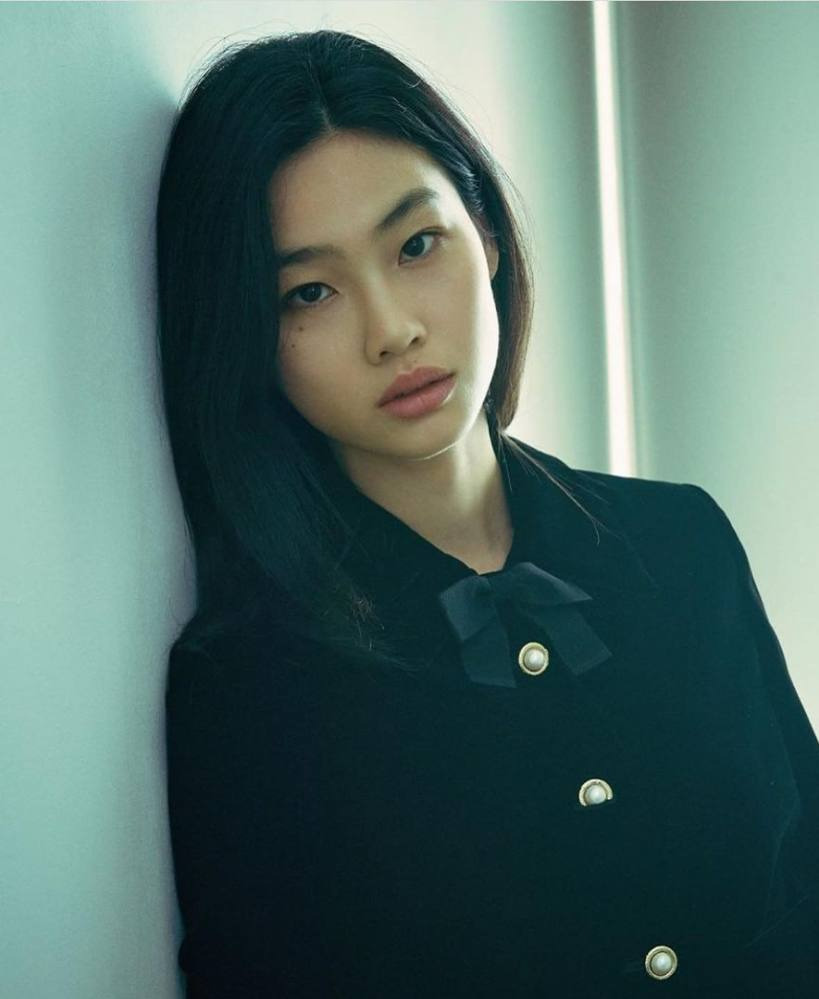 Jung Ho-yeon marked her debut as an actress with South Korean psychological thriller Squid Game. Photo: @hoooooyeony/Instagram