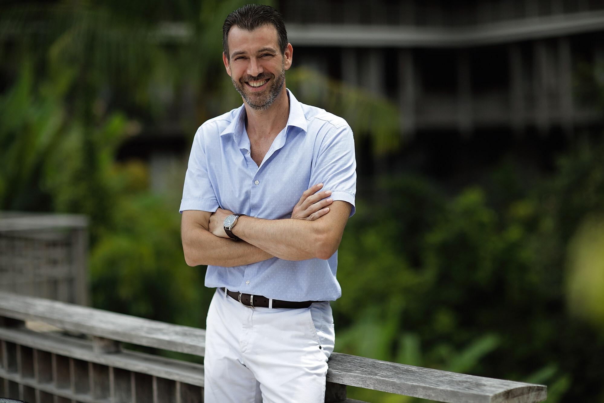 Arnaud Girodon is the general manager of The Datai Langkawi. Photo: Datai Langkawi