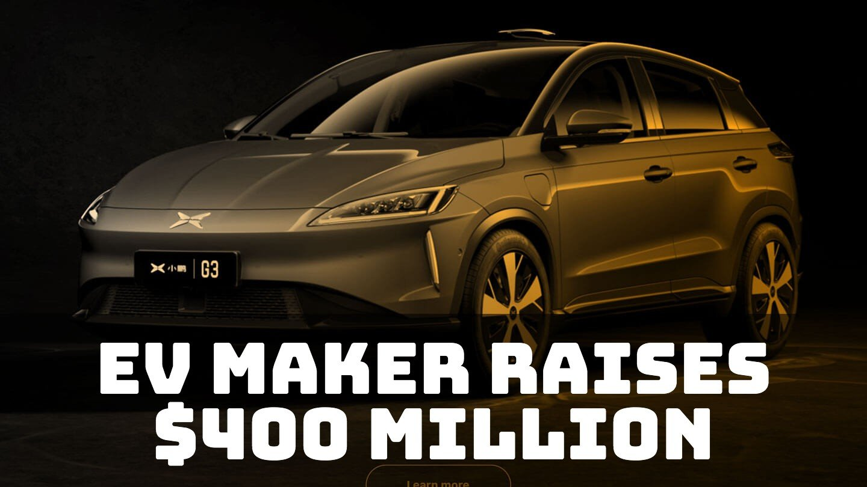 Electric car maker Xpeng raises $400 million with Xiaomi's help
