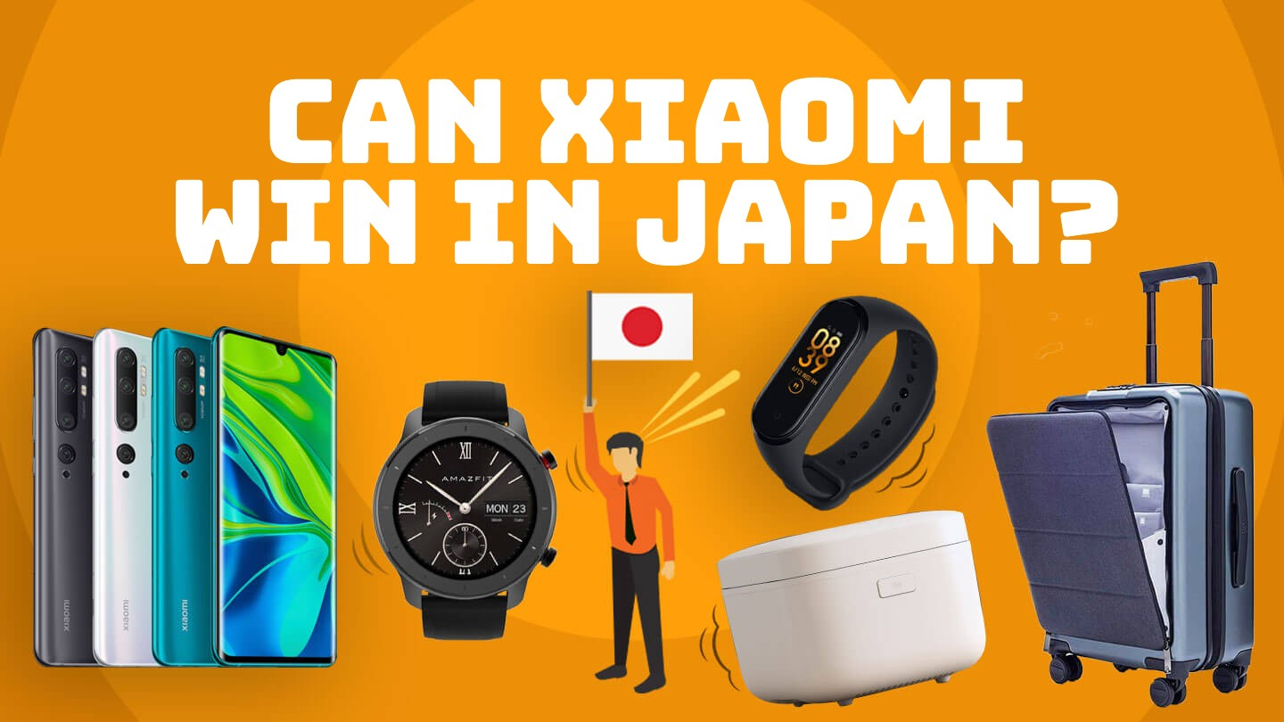 Japan hasn't warmed up to Chinese phones, but can Xiaomi change that?
