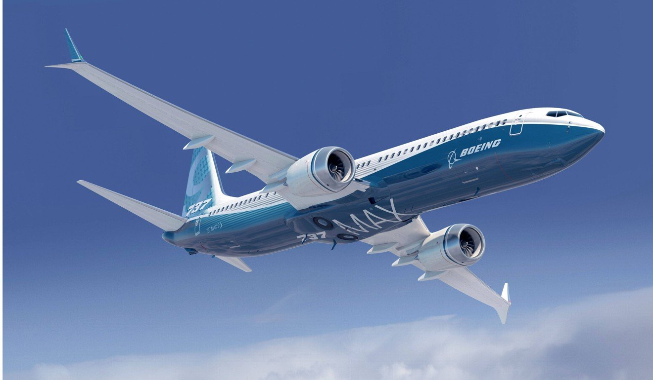 A brand new 737 MAX 8 crashed on Sunday. Photo: Boeing