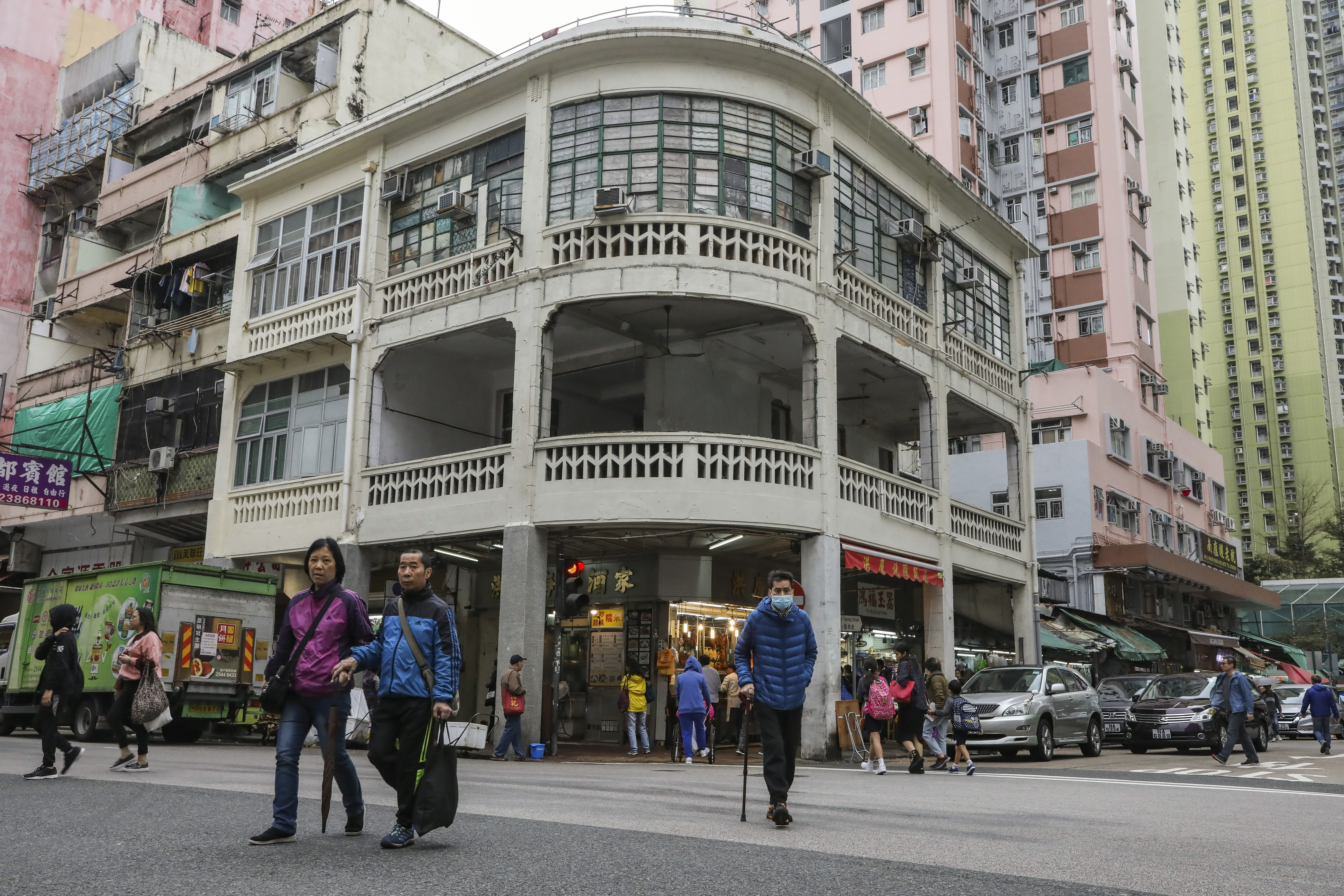 44ca5b720 Hong Kong heritage board outraged as pre-war Chinese tenement block under  threat of demolition