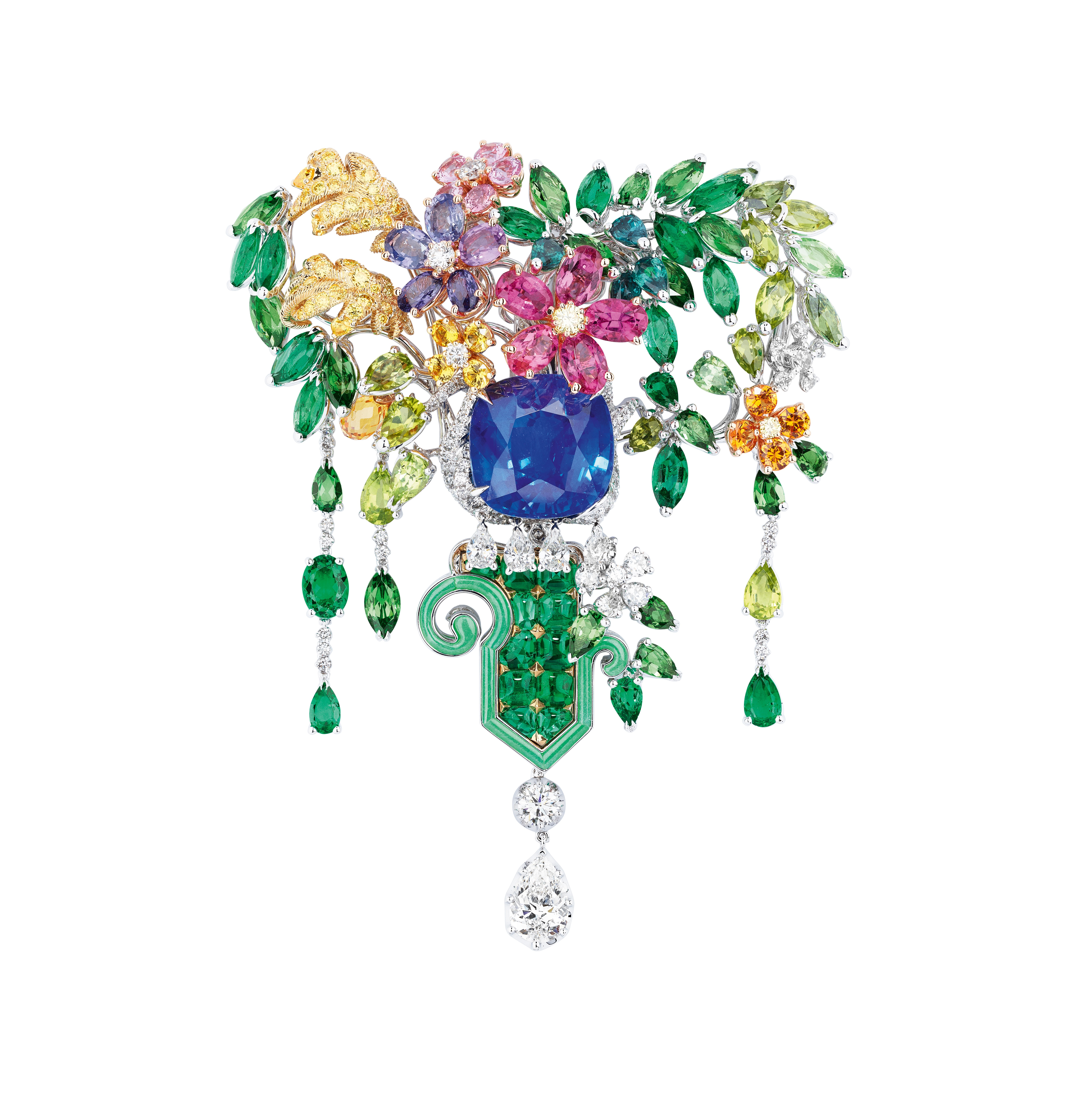 2a1fc320ffa2e Flower power finds expression in high jewellery pieces from Dior ...